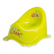 Горшок Maltex Baby Дино с нескользящими резинками Салатовый 7408 ТМ: Maltex Baby