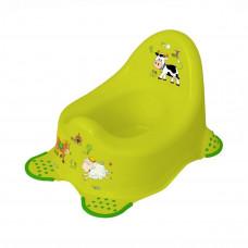 Ночной горшок «Farm» (зеленый) 8722.274 ТМ: Prima Baby