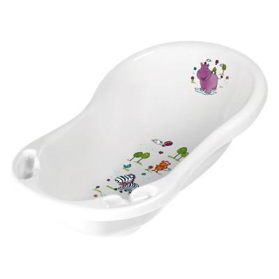 Ванночка Prima Baby Hippo белая 8437.91 (АВ) ТМ: Prima Baby