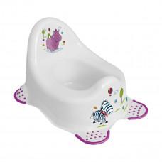 Ночной горшок Hippo, (белый) 8648.91(АВ) ТМ: OKT Kids