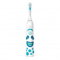 Электрическая звуковая зубная щетка Philips Sonicare for Kids Маленькие монстры HX3411/01 ТМ: Philips Avent