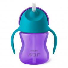Чашка с трубочкой Avent, 200 мл SCF796/02 ТМ: Philips Avent