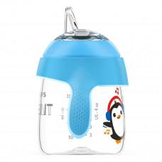 Чашка-непроливайка Philips Avent Penguin&Sing Blue 200 мл SCF747/02 ТМ: Philips Avent