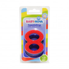 Зубное кольцо твердое рельефное 31188 ТМ: BABY-NOVA