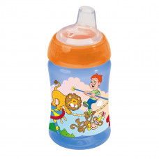 Чашка-непроливайка с клапаном Декор Cupz 34117 ТМ: BABY-NOVA