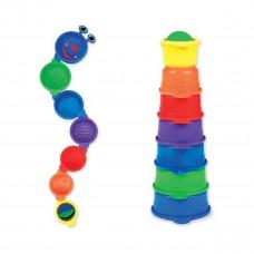 Игрушка для ванной Munchkin Пирамидка-Гусеница  11027 ТМ: Munchkin