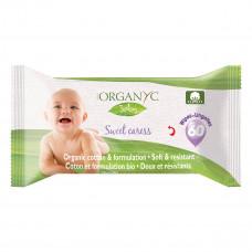 Органические влажные салфетки Corman Organyc Детские 60 шт  ТМ: Corman Organyc