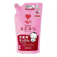 Жидкость для стирки детской одежды Saraya Arau Baby наполнитель, 720 мл 25772 ТМ: Arau Baby