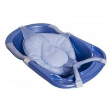 Сетка с матрасиком для ванночки Sevi Bebe синяя 8697/9014 ТМ: Sevi Bebe