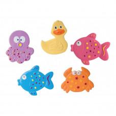 Набор мини-ковриков в ванную Canpol babies Океан, 5 шт.  80/003 ТМ: Canpol babies