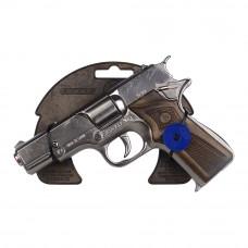 Игрушка полицейский Револьвер 8-зарядной Gonher серебристый (3125/0)