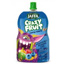 Смузи-пюре Jaffa Crazy Fruit Бананово-ягодный бум, 100 мл