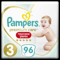 Набор подгузников-трусиков Pampers Premium Care Pants 3 (6-11 кг), 96 шт. (2 уп. по 48 шт.)