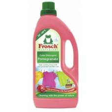 Концентрированное жидкое средство Frosch Гранат, для стирки цветного белья, 1,5 л