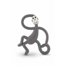 Игрушка-прорезыватель Matchstick Monkey Танцующая Обезьянка, серый (MM-DMT-001)