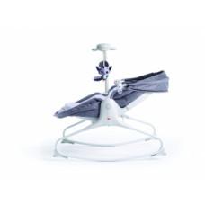 Кресло-кроватка-качалка Tiny Love Мамина любовь, с капюшоном, серый (1805500030)