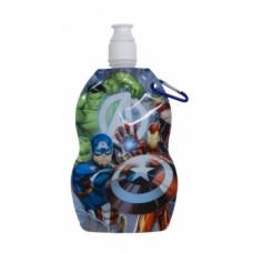 Мягкая бутылка для воды и напитков Disney Мстители, 500 мл (AV11927)