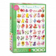 Пазл Eurographics Язык цветов 1000 элементов (6000-0579)