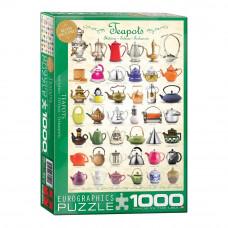 Пазл Eurographics Чайники 1000 элементов (6000-0599)