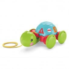 Каталка на веревке Обучающая черепашка Fisher-Price (Y8652)