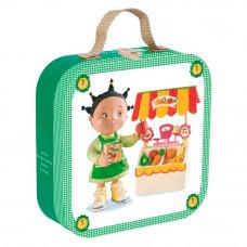 Пазл в чемодане Janod Зои играет в магазин (J02878)