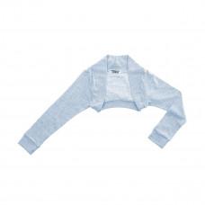 Болеро цвета серо-голубой меланж, р. 116 50U-21666BH ТМ: DJ dutchjeans