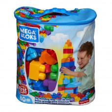 Конструктор Fisher-Price Mega Bloks голубой 80 деталей (DCH63)
