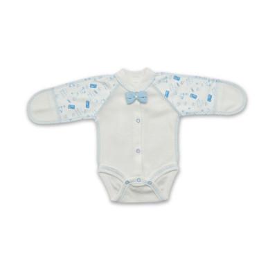 Боди Бетис Бантик молочно-голубого цвета, р. 42 27077022 ТМ: Бетис