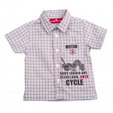 Рубашка Knot so Bad клетчатая красно-голубая клетка, р. 62 Z15-7201 ТМ: Knot so Bad