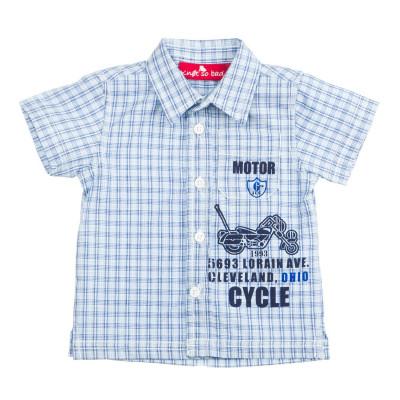 Рубашка Knot so Bad клетчатая сине-голубая клетка, р. 62 Z15-7201 ТМ: Knot so Bad
