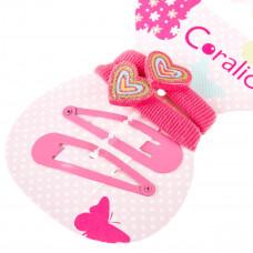 Набор аксессуаров для волос Coralico Sweet hearts, 4 шт. 229133 ТМ: Coralico