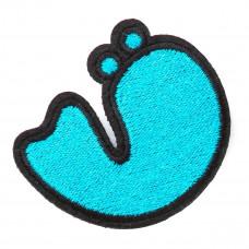 Нашивка Lumers голубая 130712 ТМ: Lumers