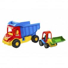 Машинка Грузовик с трактором Wader Multi truck (39219)