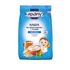 Молочная мультизлаковая каша Карапуз 7 злаков с витаминами и мелиссой, 400 г