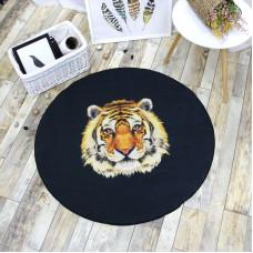 Коврик Тигр 100 х 100 см