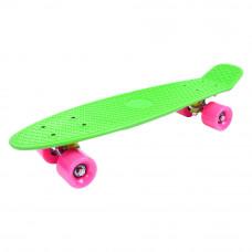 Скейт GO Travel розовые колеса (LS-P2206GPS)