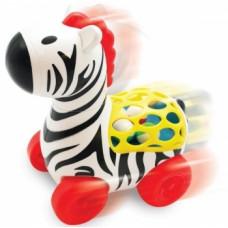 Игрушка-каталка Kiddieland Веселая зебра (56812)