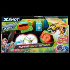 Скорострельный бластер Zuru X-Shot Огонь по летающим жукам (4821)