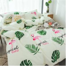 Комплект постельного белья Тропический лес  (евро)