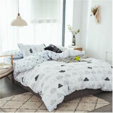 Комплект постельного белья Тучи  (евро)