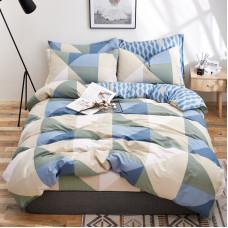 Комплект постельного белья Треугольники (евро)