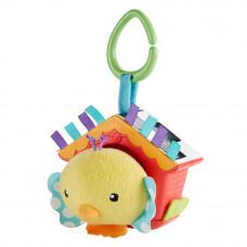 Мягкая игрушка подвеска Птенец в скворечнике Fisher-Price (DFP95)