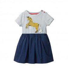 Платье для девочки Блестящий единорог