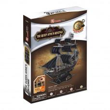3D Пазл Корабль Черной Бороды Месть королевы Анны (T4005h)