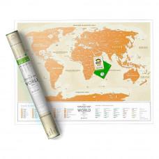 Скретч карта 1DEA.me Золотой мир (GWRU)