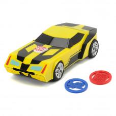 Автомобиль Трансформер Бамблби с функцией стрельбы светом и звуком Dickie Toys 20 см (3114003)