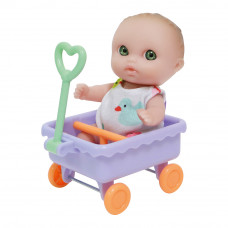 Пупс JC Toys Малыш с тележкой (JC16912-2)