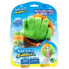 Мыльные пузыри Wanna Bubbles Волшебные прыгуны, зеленый, 56 мл (BB124-1)
