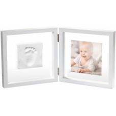 Двойная рамка Baby Art, прозрачная со слепком (3601095800)