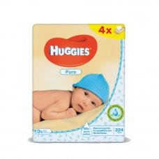 Салфетки влажные Huggies Pure, 56шт х 4уп.